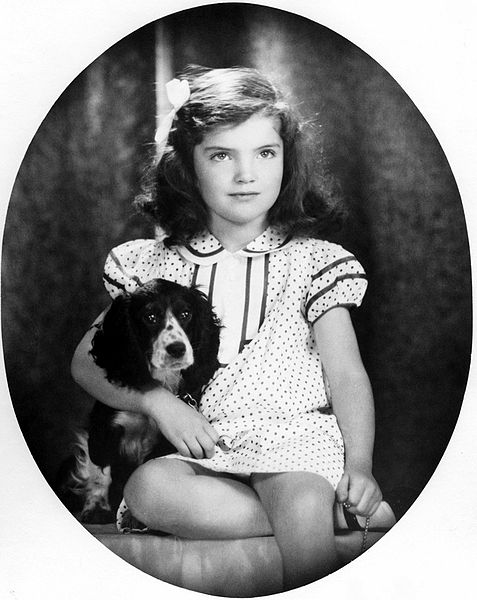 Jacqueline Bouvier In 1935 Photo By David Berne