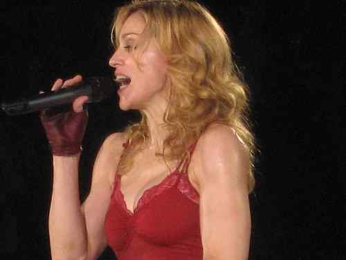 Madonna In Wembley 2006