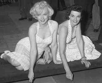 Marilyn Monroe The Blonde Bombshell And Jane Russel 1953