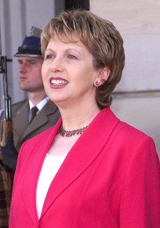 Mary McAleese Former President Of Ireland