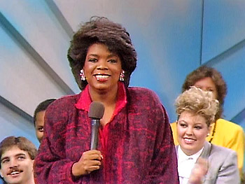 Oprah Winfrey's First Broadcast