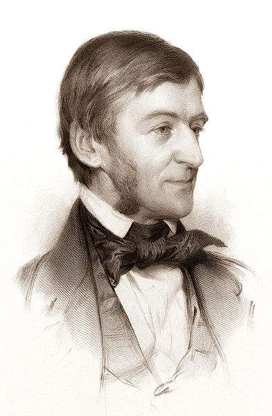 Ralph Waldo Emerson Quotes Drawing By Samuel Worcester Rowse