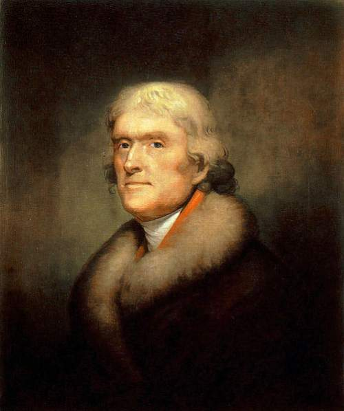Thomas Jefferson Quotes Painting By Rembrandt