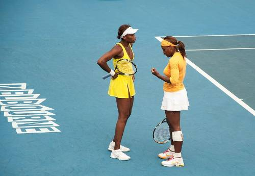Venus And Serena Williams In 2010 Photo By Emmett Anderson