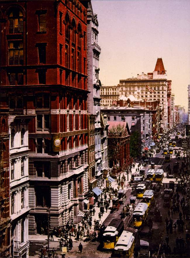 Elizabeth Arden And Broadway New York 1900
