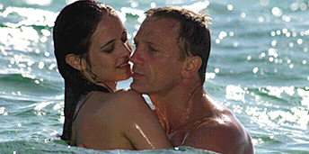 Casino Royale Film Review Vesper Lynd Eva Green) And James Bond 007 (Daniel Craig)