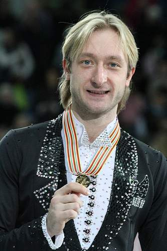 Evgeni Plushenko Of The Evgeni Plushenko and Alexei Yagudin Rivalry Photo By David W. Carmichael Creative Commons ShareAlike Licence