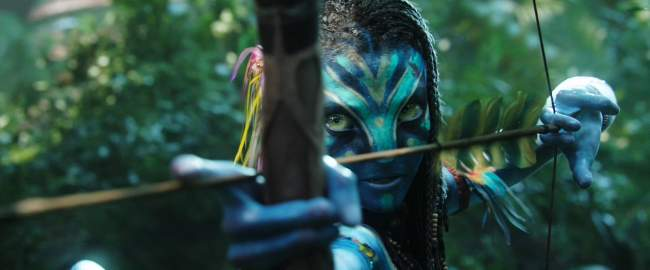 Avatar Film Review Neytiri (Zoe Saldana)