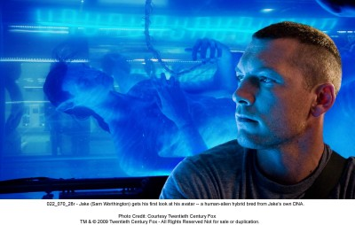 Avatar Film Review Jake Sully (Sam Worthington)