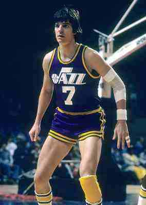 Pistol Pete Maravich At New Orleans Jazz
