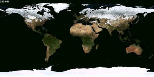 Planet Earth's Changing Climate Photo By NASA