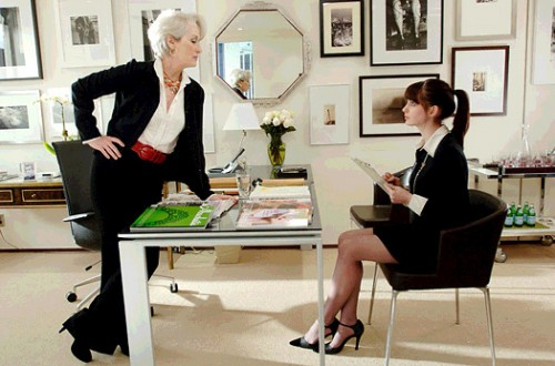 The Devil Wears Prada Film Review Miranda Priestly (Meryl Streep) And Andy Sachs (Anne Hathaway)