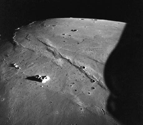 The Moon's Mare Imbrium Taken By The Apollo 15 Crew