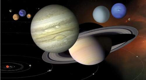 The Inner Planets The Scale Of Inner And Outer Planets NASA