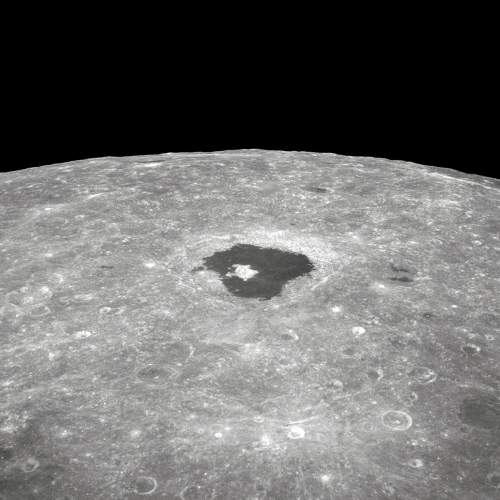 Lunar Fascination: Tsoilkovsky Crater On The Moon