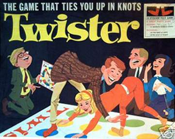 1960's Toys Twister Box Cover (Fair Usage)