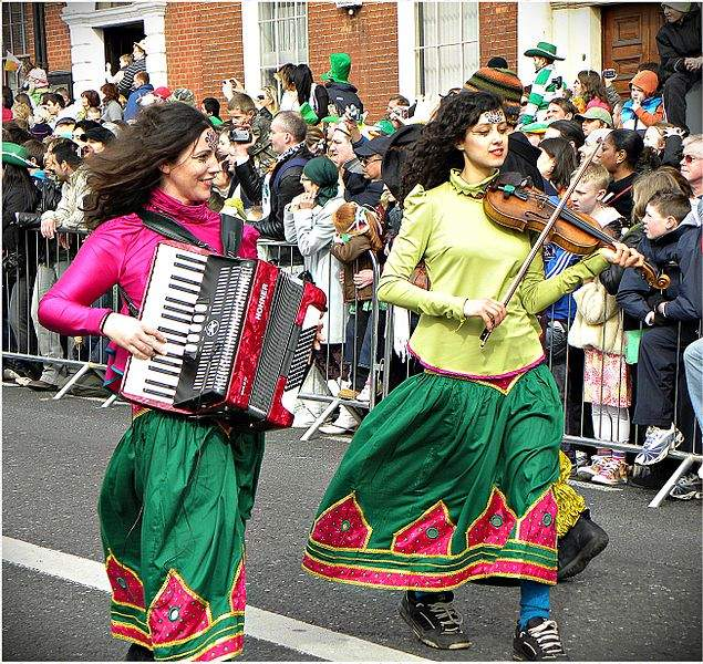 Saint Patrick's Day Parade In Dublin Photo By uggboy