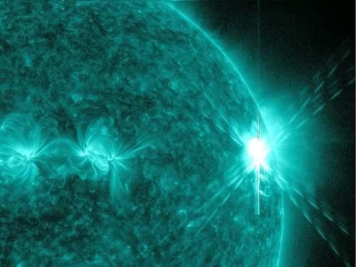 Coronal Mass Ejection On The Sun