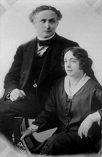 Harry Houdini And His Wife Bess