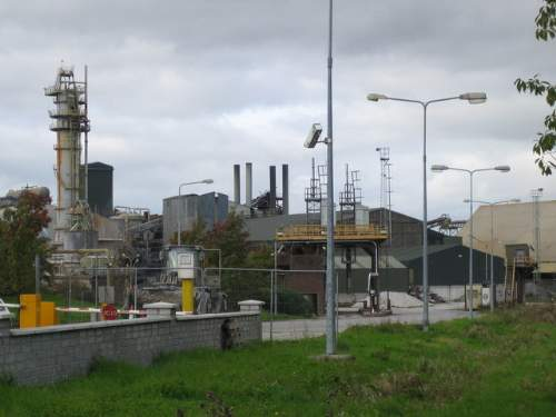 Greencore Sugar Beet Proccessing Factory In Mallow, Cork Photo By Nigel Cox