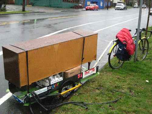 Heavy Duty Bicycle Trailer