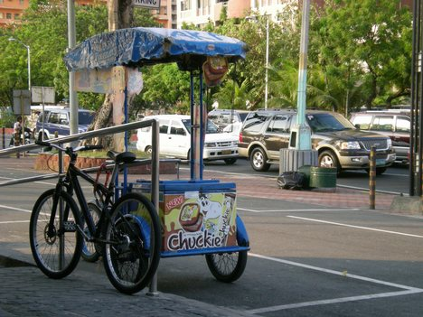Ice Cream Bike