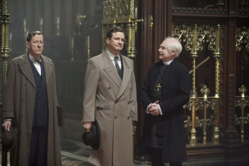 The Kings Speech Lionel Logue Geoffrey Rush King George VI Colin Firth and