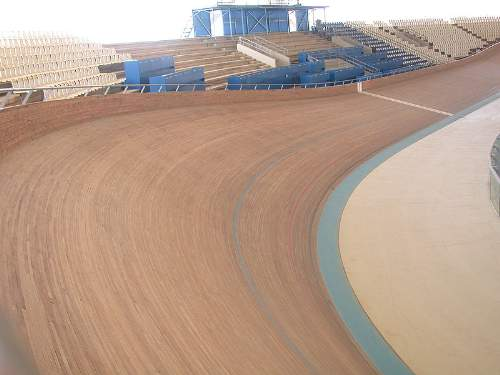 A Velodrome In Athens Photo By Massimo Finizio