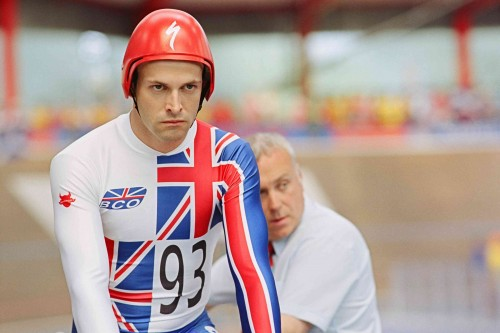 Graeme Obree (Jonny Lee Miller) In The Flying Scotsman MGM Distribution Co.
