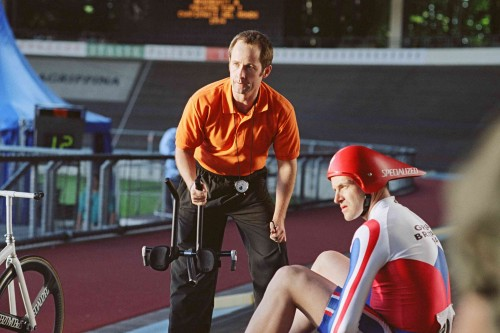 Malky (Billy Boyd) And Grame Obree (Jonny Lee Miller) In The Flying Scotsman. MGM Distribution Co.