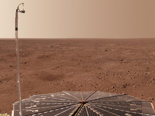 Planet Mars's Surface And Rover