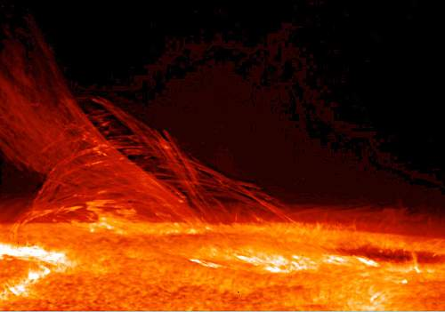 Sun Coronal Mass Ejection Photo By Hinode JAXA NASA