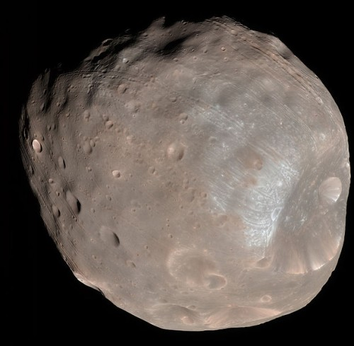 Phobos Planet Mars's Largest Moon