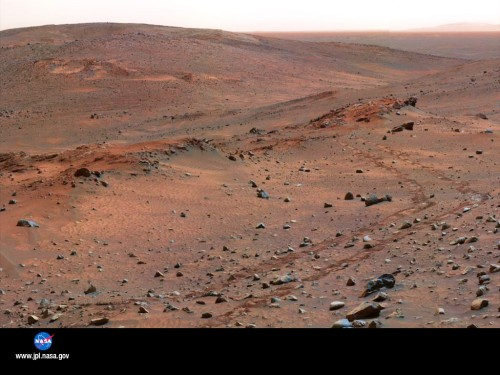 The Surface Of Planet Mars