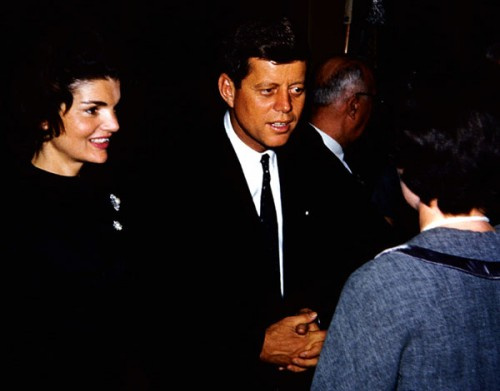 Jackie And John Fitzgerald Kennedy Photo By Jeff Dean