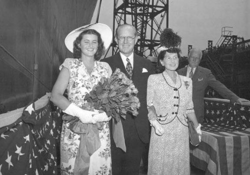 Jean Kennedy, Joe Kennedy And Rose Kennedy
