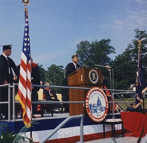 John F. Kennedy American University Commencement