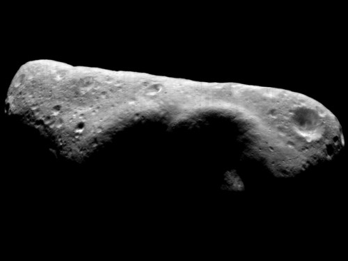 The Asteroid Belt's Near Earth Asteroid Eros