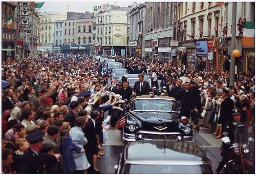 John F. Kennedy In Dublin