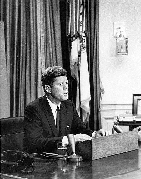 John F. Kennedy's Civil Rights Address In 1963 Photo By Abbie Rowe