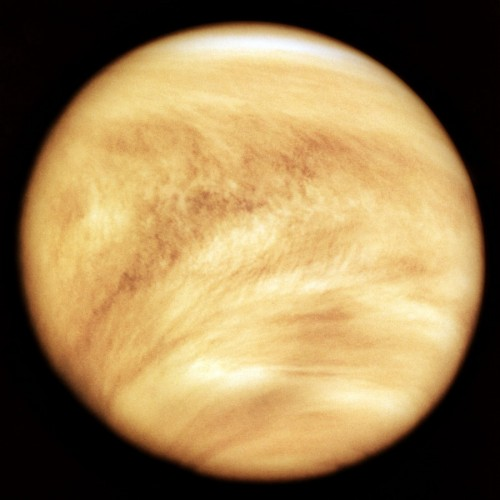 The Thick Clouds Of Planet Venus