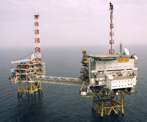 Draupner Oil Platform Rig Photo By Garve Scott-Lodge