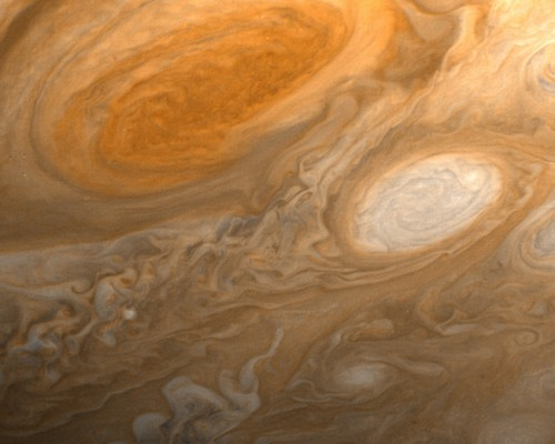 Planet Jupiter's Great Red Spot