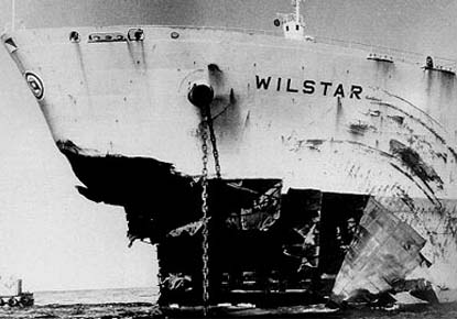 Norwegian Wilster Destroyed By A Rogue Wave