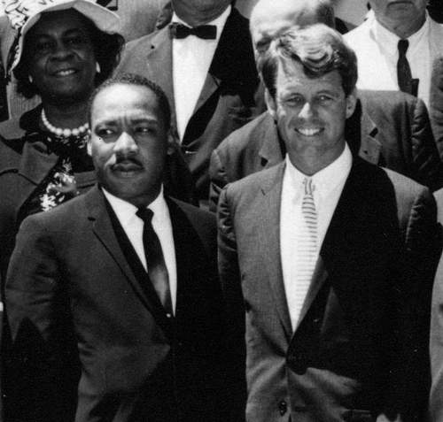 Robert Kennedy Quotes With Martin Luther King Photo By Abbie Rowe