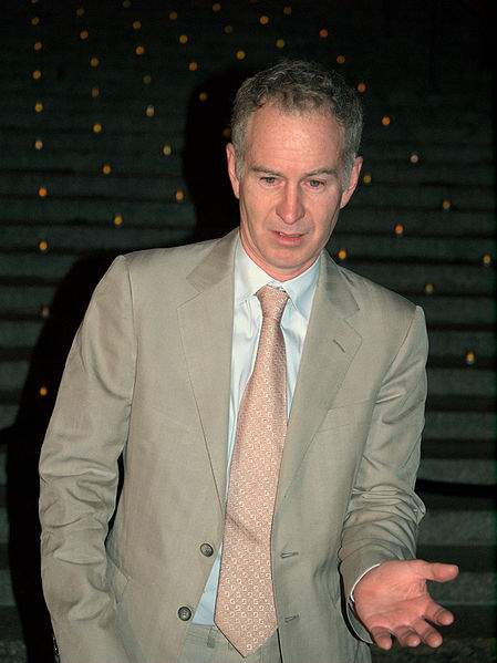 John McEnroe Quotes Photo By David Shankbone