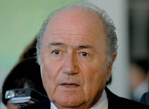Sepp Blatter Photo By Roosewelt Pinheiro