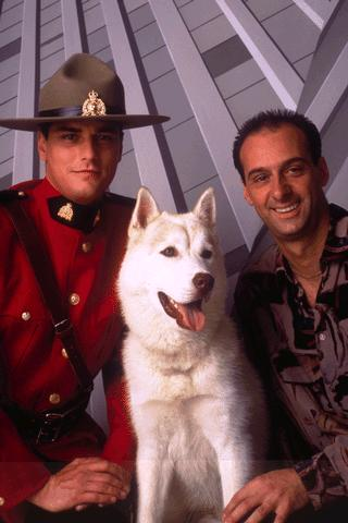 Due South Benton Fraser (Paul Gross), Diefenbaker And Ray Vecchio (David Marciano)