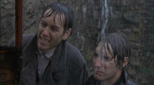 Withnail (Richard E. Grant) And Marwood (Paul McGann) In Withnail And I