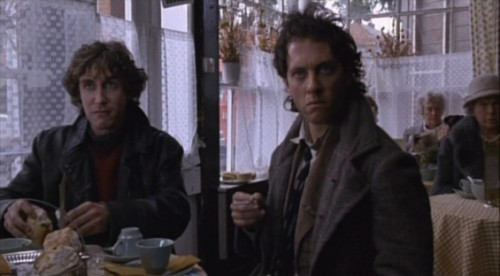 Marwood (Paul McGann) And Withnail (Richard E. Grant) In Withnail And I